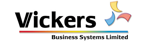Vickers Business Systems Retina Logo